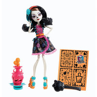 LicensedCartoons.com: Monster High Art Class Skelita Calaveras Doll