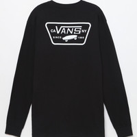 Vans Full Patch Black Long Sleeve T-Shirt at PacSun.com
