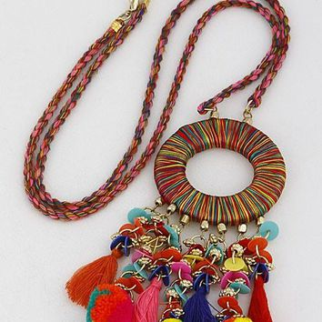Stylish Tale Multi Statement Necklace