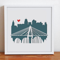 Kansas City - Personalized Gift or Wedding Gift