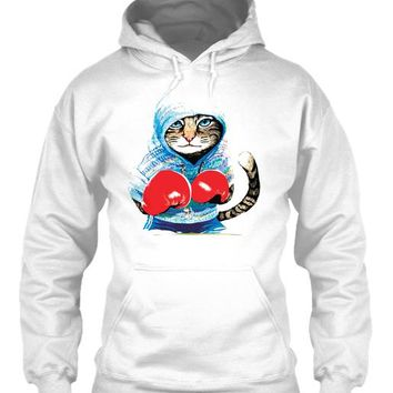 CAT BOXING T SHIRT