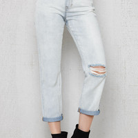 PacSun Peekaboo Ripped Mom Jeans at PacSun.com