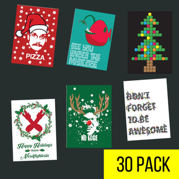 Nerdfighter Holiday Cards- Variety Pack