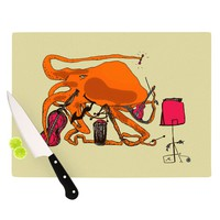 "Marianna Tankelevich ""Playful Octopus"" Cutting Board"