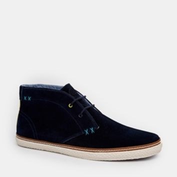 Ted Baker Chukka Boots - Blue