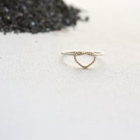 Don't promise me anything / Infinity heart twisted  ring
