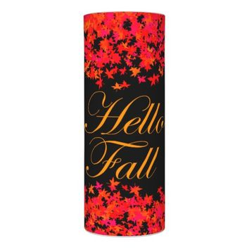 Bright Leaves Welcoming Fall LED Candle
