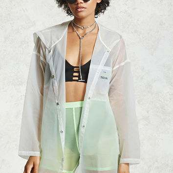 Transparent Nylon Jacket