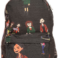 O-Mighty Backpack The Daria in Black