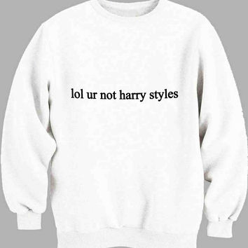 lol ur not Ashton Irwin Sweater for Mens Sweater and Womens Sweater ***