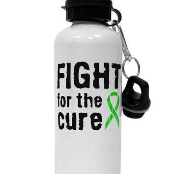 Fight for the Cure - Lime Green Ribbon Lyme Disease Aluminum 600ml Water Bottle