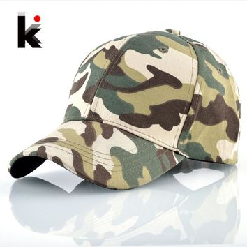 Trendy Winter Jacket Camouflage Baseball Cap For Men Women Outdoor Sport Snapback Hat Climbing Hunting Camo Bone Mosculino Casual Adjustable Gorras AT_92_12