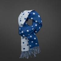 Cute Dot Patterned Scarf