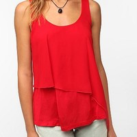 Daydreamer LA Asymmetrical Double Layer Tank Top