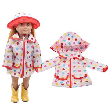 Baby clothes 18-inch American girl doll doctor pay 2 times children's birthday presentc267
