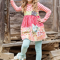 Giggle Moon Chloe Pants with Tunic Peace and Joy