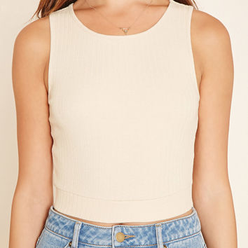 Ribbed Knit Crop Top