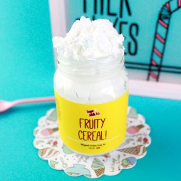 Fruity Cereal Whipped Soap