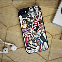 lana del rey collage iPhone 5(S) iPhone 5C iPhone 6 Samsung Galaxy S5 Samsung Galaxy S6 Samsung Galaxy S6 Edge Case, iPod 4 5 case