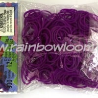 Neon Purple (Silicone) | Rainbow loom