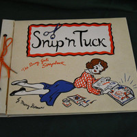 Scrapbook Photos Keepsakes Snip n Tuck Mary Dorman Mid Century Vinyl 1950s Busy Gals