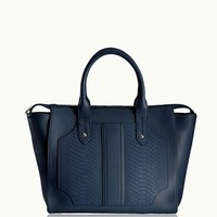 GiGi New York Gates Satchel Navy