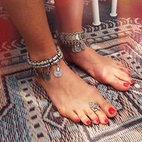 Nomad Anklet by Natalie B Jewelry