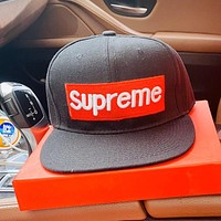 Supreme men's and women's wild breathable visor baseball cap