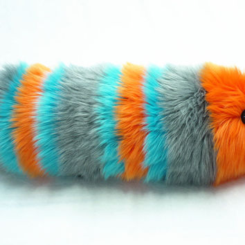 Electra the Snuggle Worm Stuffed Animal Plush Toy