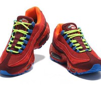 NIKE Air Max 95 Fashion Men Running Sport Casual cushion Shoes Sneakers Red B