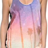 Empyre Emily Galaxy Palm Tank Top