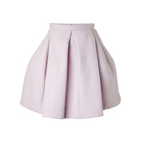 Kenzo - Coated Wool Bubble Skirt