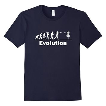 Disc Golf Evolution T-Shirt | Frolf Disc Golf Tee