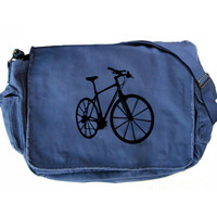 Large Messenger Bag - Bike Messenger Bicycle Canvas Bag