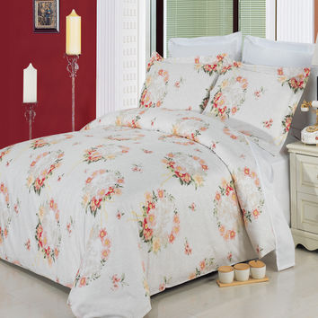 Liza 8-Piece 100% Egyptian Cotton Bed in a bag