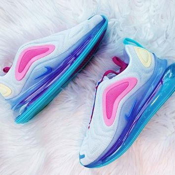 Nike Air Max 720 Trending Popular Women Men Casual Air Cushion Sport Shoes Sneakers