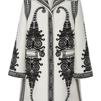 Camille Embroidered Coat | Moda Operandi