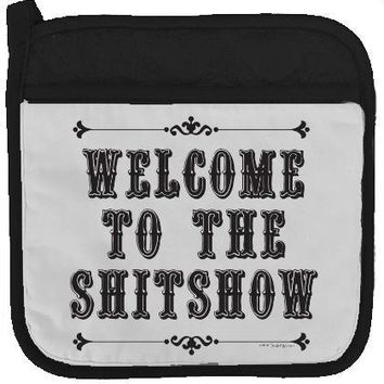 Welcome Potholder By Twisted Wares