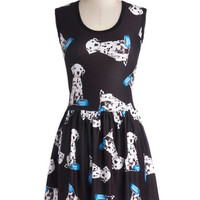 My Kinda Gallop Dress in Dalmatian