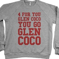 You Go Glen Coco! (Sweater)-Unisex Heather Grey Sweatshirt