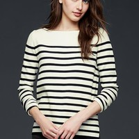 Gap Women Stripe Boatneck Sweater