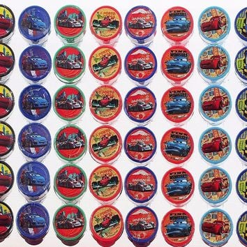 New 2017 Disney Cars 3 Stampers Party Favors 10 Piece Set