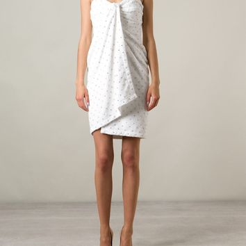 Moschino Embellished Towel Dress - Pearl - Farfetch.com