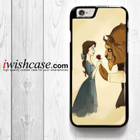 Cartoon Iphone Case, Beauty And The Beast for iPhone 4 4S 5 5S 5C 6 6 Plus , iPod Touch 4 5  , Samsung Galaxy S3 S4 S5 S6 S6 Edge Note 3 Note 4 , and HTC One X M7 M8 Case
