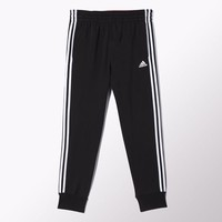 adidas Slim 3-Stripes Sweat Pants - Red | adidas US