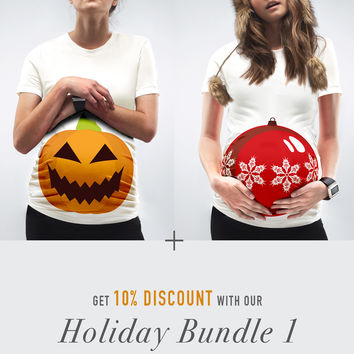 Holiday Bundle 1 / The Pumpkin + The Bauble Bump