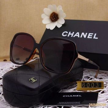 DCCKU62 Original Chanel Fashion New Design Polarized Lenses Sunglasses 6003 - 152