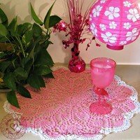 Large Doily F (17 to 18 inches) from Heritage Heartcraft