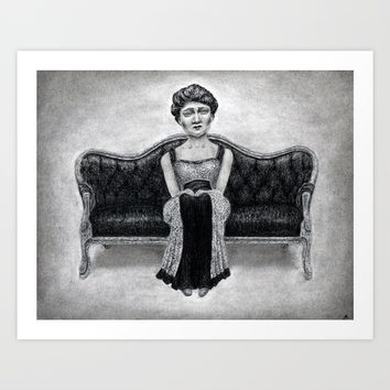 untitled Art Print by Paul Draws