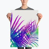Colorful Palm Poster